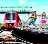 Железная дорога — не место для игр!