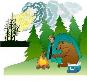Памятка населению по предупреждению лесных пожаров